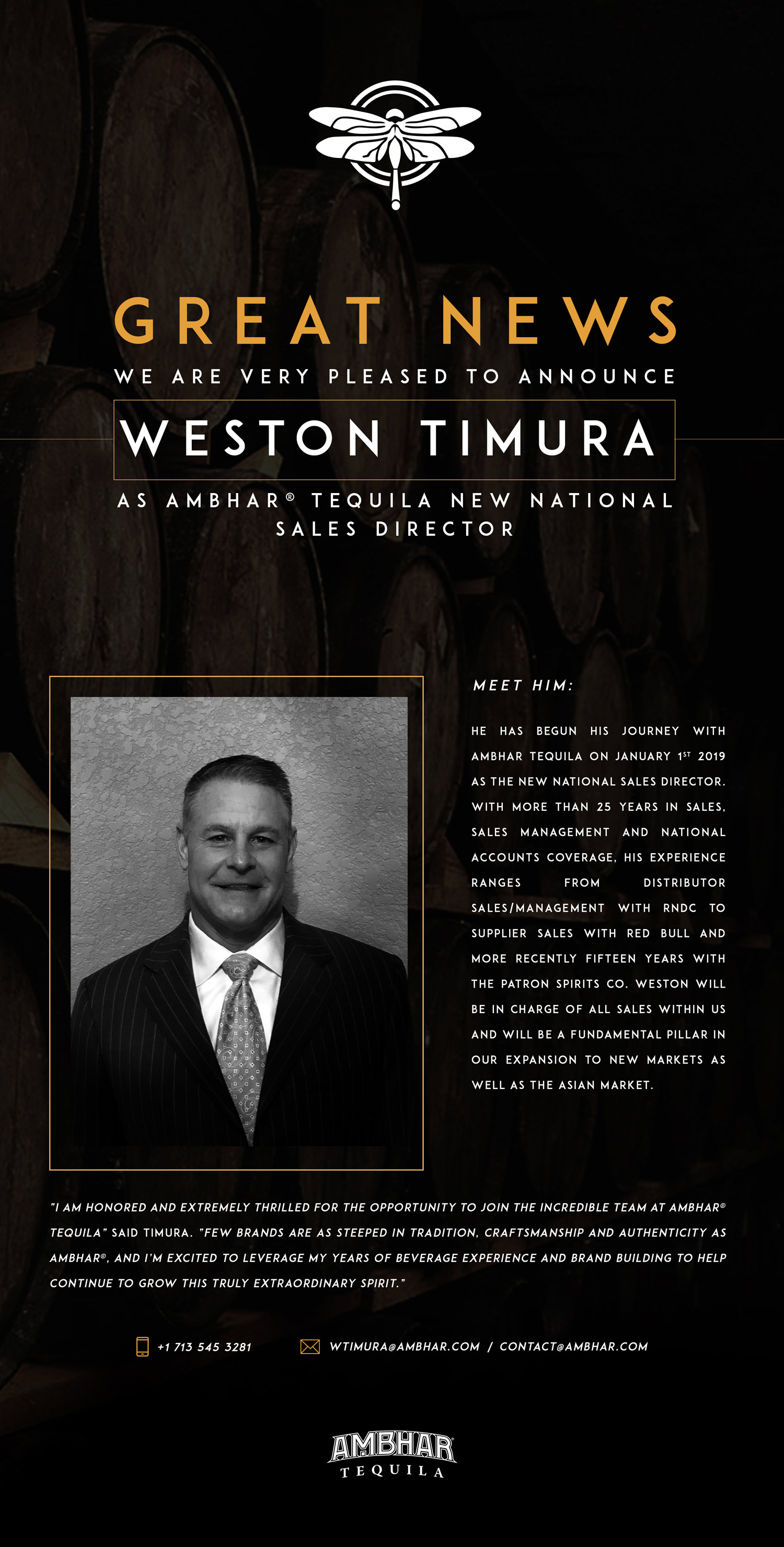 weston timura